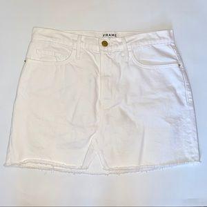 FRAME Le mini split front skirt, size 27 BNWOT